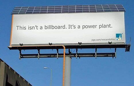 メッセージ性のある広告
