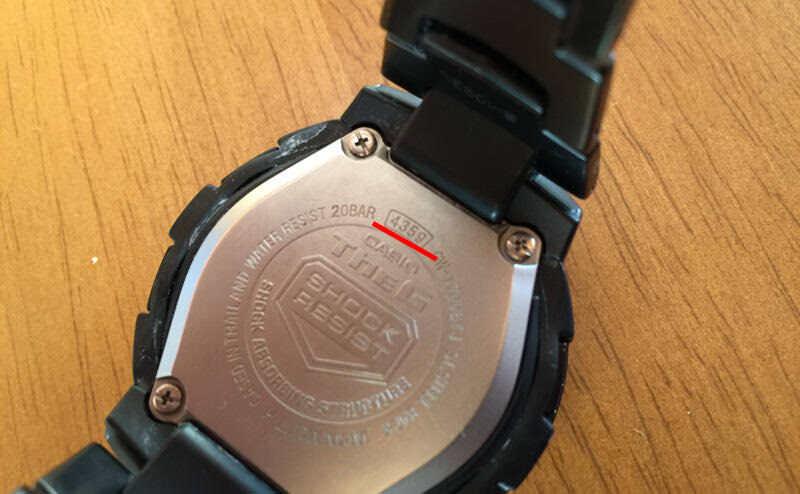 時計にある番号