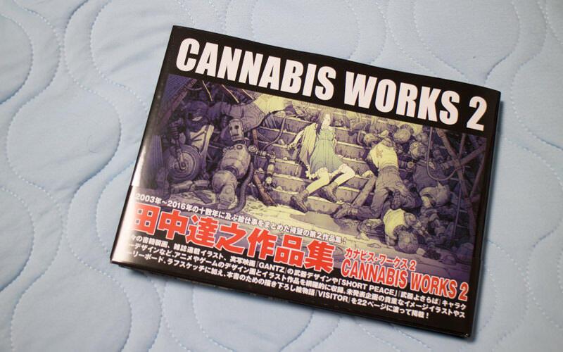 田中達之さんの画集cannabis Works 2を手に入れた